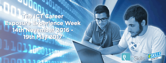 The ICT Career Exposure Experience Week 2016-2017