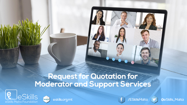 Request for Quotation for Moderator and Support Services
