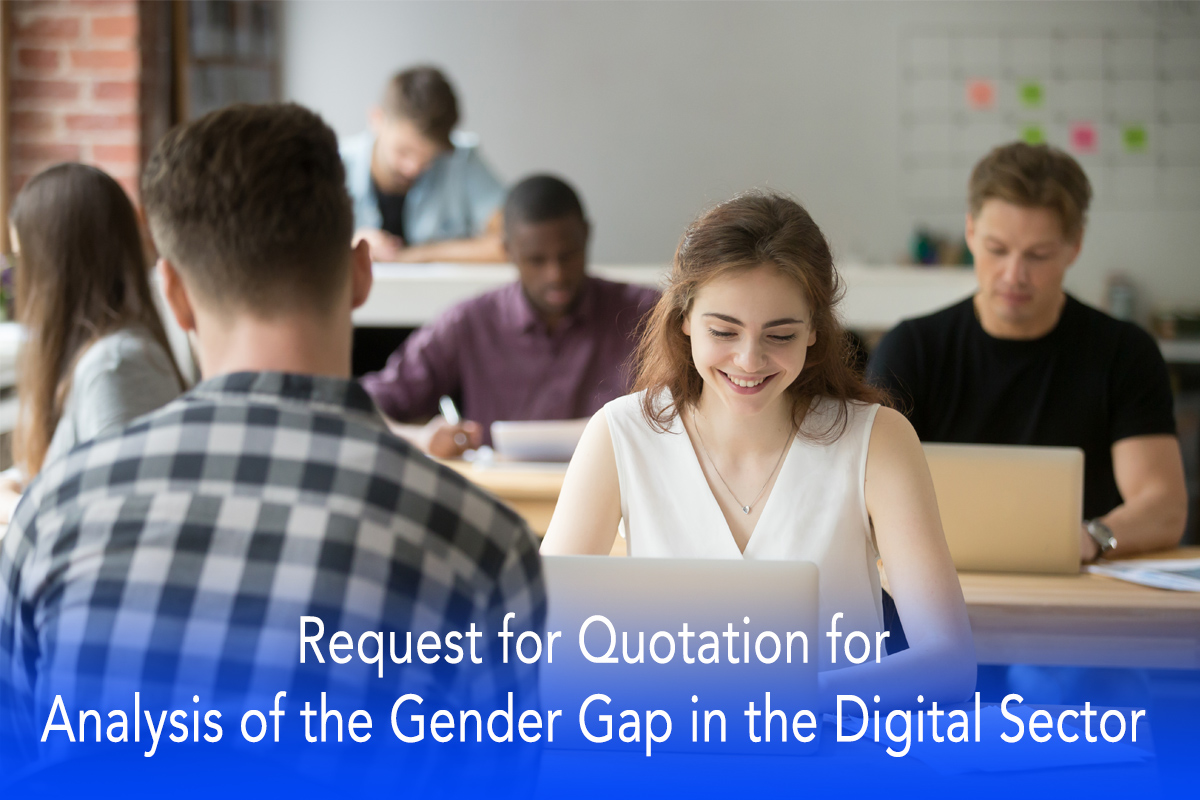 Request for Quotation for Analysis of the Gender Gap in the Digital Sector