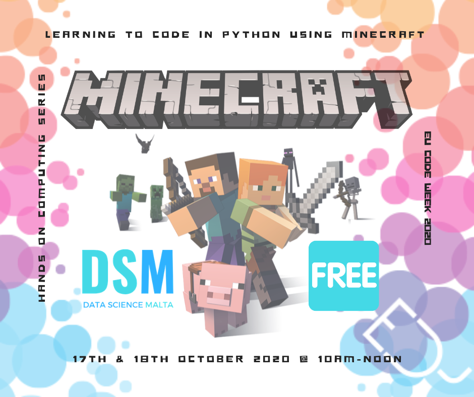 Learn to code in Python using minecraft