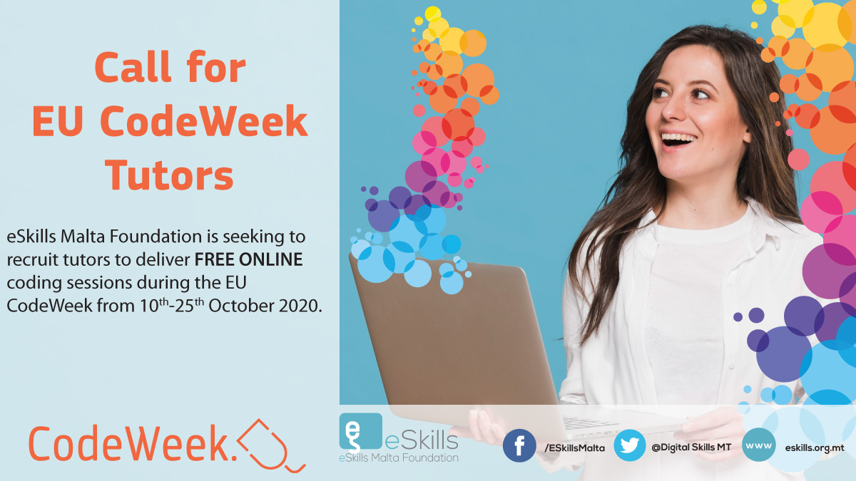 Call for EU CodeWeek tutors