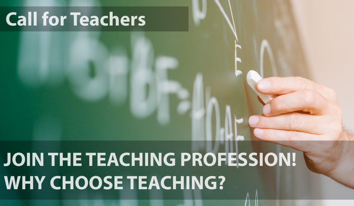 Join the Teaching Profession!
