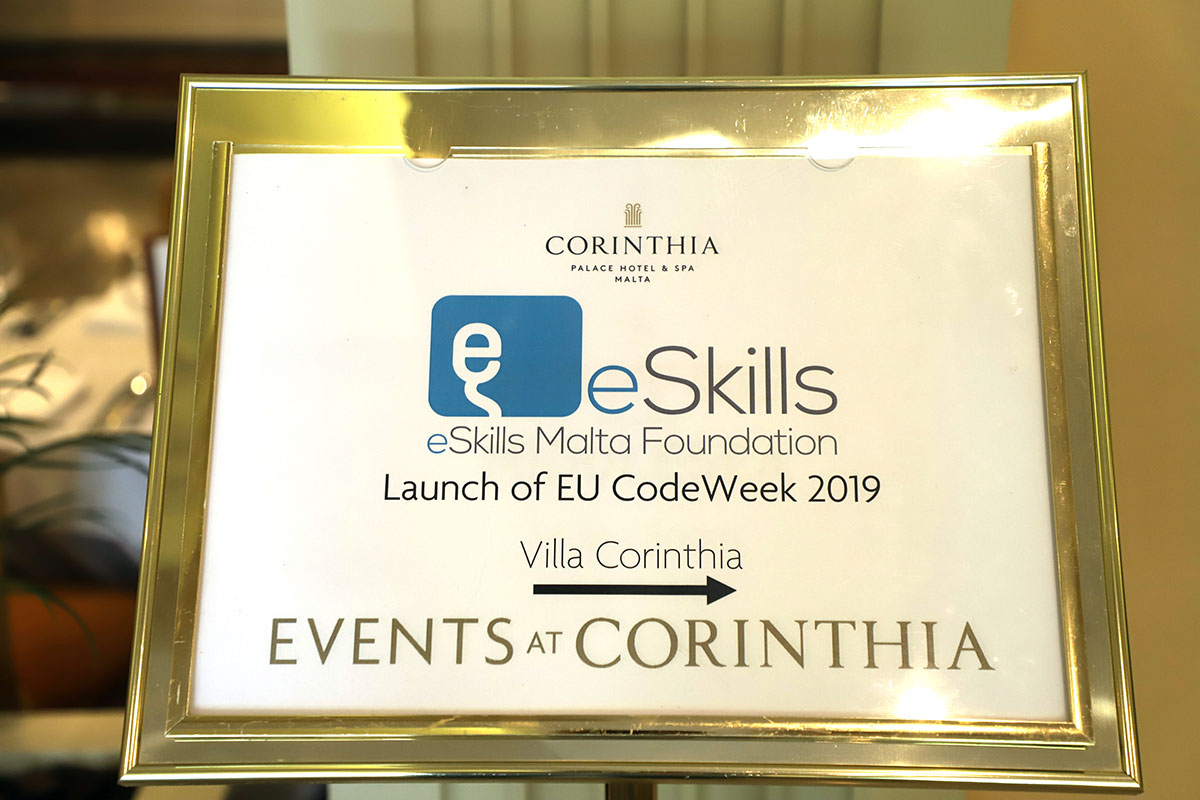 Launch of the EU Codeweek 2019