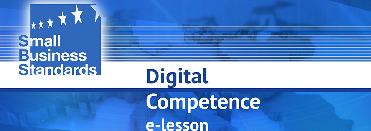 Digital Competence e-lesson