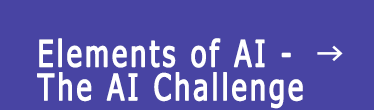 Elements of AI - The AI Challenge